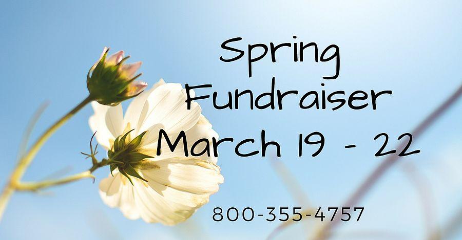 spring fundraiser in station news